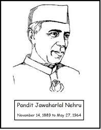 pandit jawaharlal nehru coloring pages of children day coloring pandit jawaharlal nehru coloring pages of children day