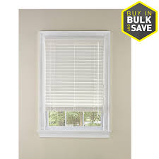 levolor 2 in white faux wood plantation blinds