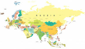 World Map Europe And Asia How Is The Border Between Europe And Asia Defined Worldatlas Com