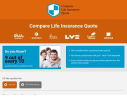 Zurich Life Insurance Quote Delectable Compare Life Insurance Quotes Affiliate Programs Offers