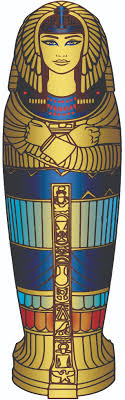 Egyptian Coffin Designs Sarcophagus Lid Egyptian Colors