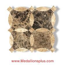 Light Emperador Marble light emperador & dark emperador waterjet cut tile design 20 3983 by uwakikaiketsu.us