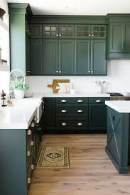 Green Kitchen Cabinet Inspiration Bless Er House And Wall Colors