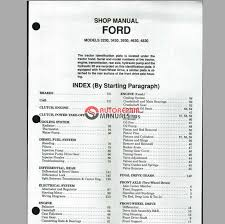 ford 4630 wiring diagram ford image wiring diagram ford 3230 3430 3930 4630 4830 shop manual auto repair manual on ford 4630 wiring diagram