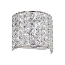 crystal wall lighting for bathroom