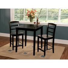 International Concepts Black 30 Square Counter Height Table K46