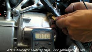 goldwing stator output check