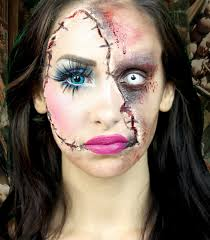doll makeup halloween photo 1