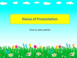 Summer Powerpoint Templates A Summer Kids Template For Presentation