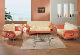 Orange Living Room Set Orange Sofa Set Thesofa