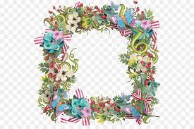 Paper With Flower Border Paper Flower Border Designs Png Floral Design Paper Clipart
