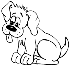 Small Picture Coloring Page Of A Dog zimeonme
