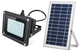 the sunbonar 54 led flood light comes with 54 led pieces that together deliver a maximum light output of 400 lumens which is more than capable of