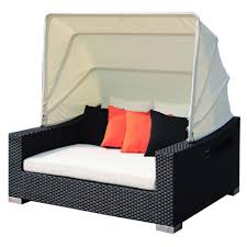 Source Outdoor King Wicker Daybed