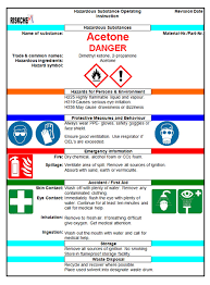 chemical information sheet chemical risk assessments ghs safety and legal compliance audits