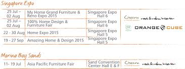 Small Picture Come And Visit Us At Singapore Expo Marina Bay Sand