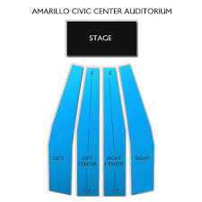 Civic Center Auditorium Amarillo Tx Seating Chart Amarillo Civic Center Auditorium Tickets