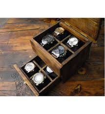 men s watch box rustic wooden watch box men s watch box rustic wooden watch box