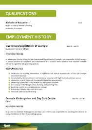 100 Sample Kindergarten Teacher Resume 100 Resume Format