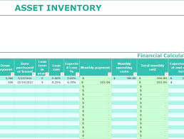 excel asset management asset inventory management excel template fixed tracking templat