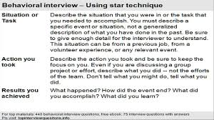 Behavior Based Interview Questions And Answers Star Question Examples Magdalene Project Org