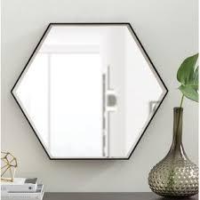 Wall mirrors Metal High Littleton Wood Wall Mirror Home Depot Modern Wall Mirrors Allmodern