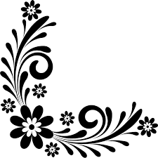 Flower Corner Border Designs