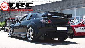 mazda rx8 fast and furious. trc shogun style rear wing spoiler 133cm mazda rx8 fast and furious