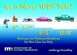 Mn Dnr Ice Thickness Chart Ice Still Too Thin 93 1 The Border