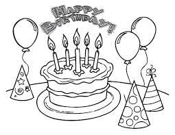 Small Picture Birthday cake coloring pages with five candles ColoringStar