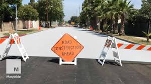 los angeles painting roads white cost ideas