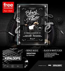 Flyer Black And White 90 Awesome Free Flyer Templates Psd