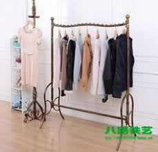 Apparel Display Stands Treasure Island New clothing rack hanger landing hangers wrought 60