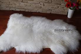 merino white cream sheepskin rug amazing soft wool jpg