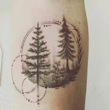 Tattoo Uploaded By Likeabird Blackwork Forearm Forest