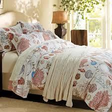 chausub ocean style silk bedding set 4pcs satin egyptian cotton duvet cover set bed cover king