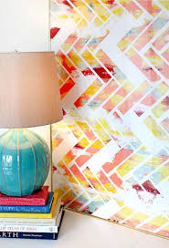 on chevron canvas wall art diy with 25 creative and easy diy canvas wall art ideas