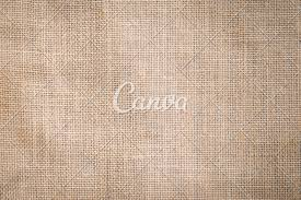 Light Tan Cream Hessian Sackcloth Woven Texture Pattern Background In Light