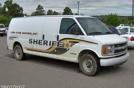 2000 chevrolet express 3500 crime scene response unit