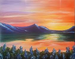 painting and vino mountain sunset presented by painting and vino community sacramento365