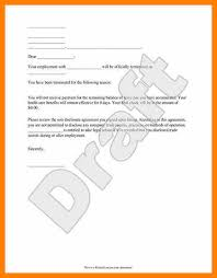 8+ Final Paycheck Letter Template | Vereador Jamerson