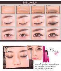 korean eyes makeup model