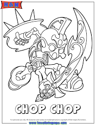 Small Picture Skylanders Giants Undead Series2 Chop Chop Coloring Page H M