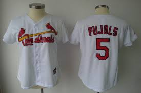 Offer Price Free Cardinals Shipping And Mlb Stitched Albert Women's Jersey White 5 With Real Fashion Pujols Cheap