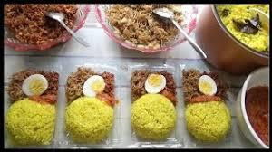 30 porsi @ rp 7.000 = rp 210.000 Resep Rahasia Nasi Kuning Gurih Dan Wangi Untuk Jualan Laris Youtube