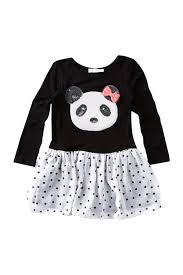 Pinc Premium Size Chart Pinc Premium Drop Waist Panda Dress Little Girls Nordstrom Rack
