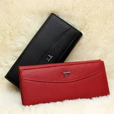 brand new genuine high quality leather wallet for women coin holder small purse for las thumbnail