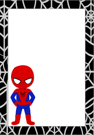 spiderman free printable invitations cards or images