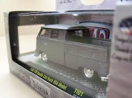 M2 MACHINES - Titanium - 1960 Vw Double Cab Pickup Truck Usa Model 1 ...