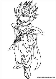 goku coloring page pages printable dragon ball z perfect book dbz ssj4